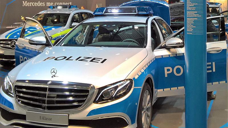 HybridForms Police auf der Polizeimesse GPEC 2016 in Leipzig