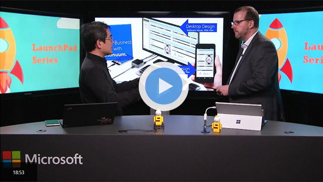 HybridForms: Microsoft Channel 9