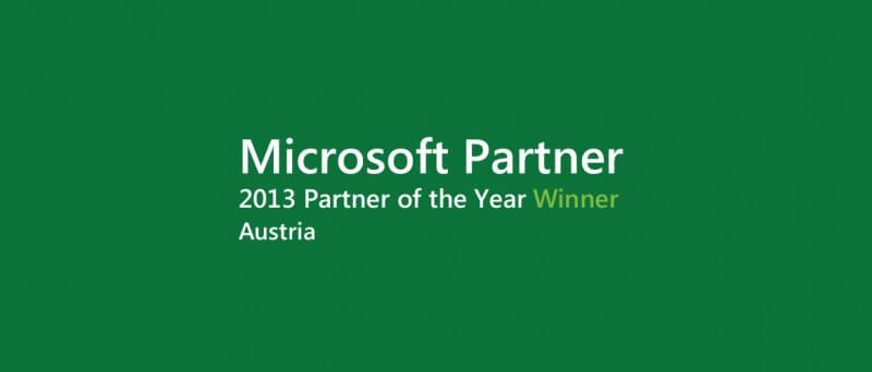 Microsoft Partner of the Year 2013