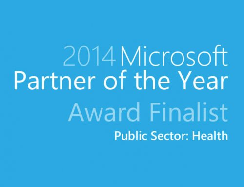icomedias recognized as finalist for 2014 Microsoft Public Sector Health Award