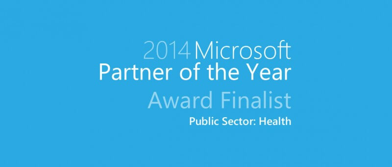 Finalist Microsoft Award 2014 Health