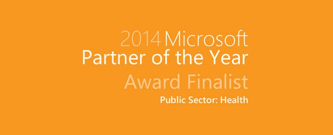 2014 Microsoft Partner of the Year Award Finalist