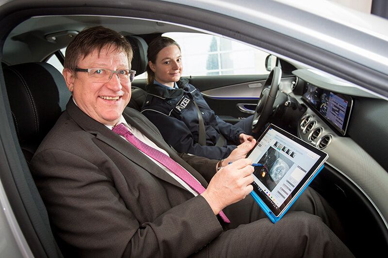 Pilot project for mobile policing in Saarland