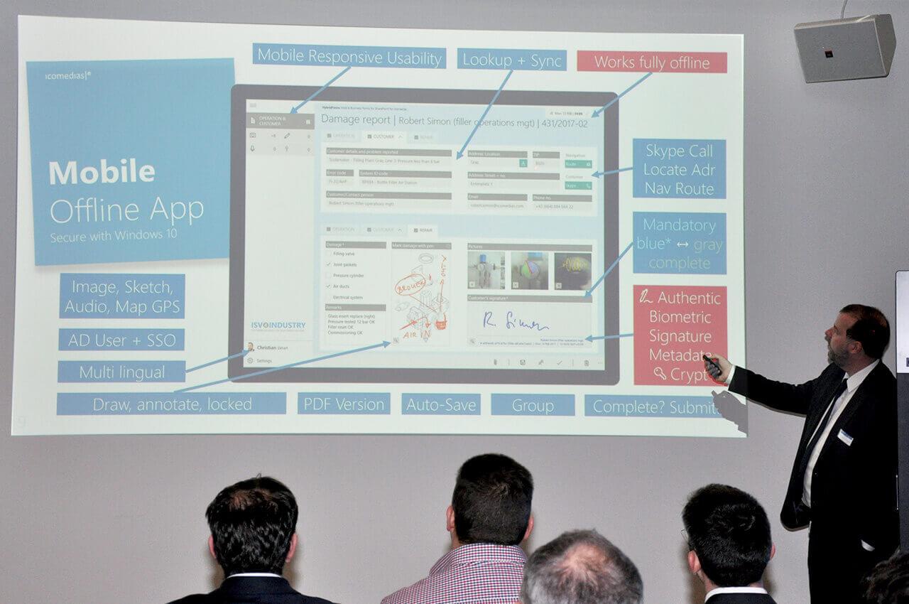Smart Factory and IoT: Business Breakfast @ Microsoft Switzerland