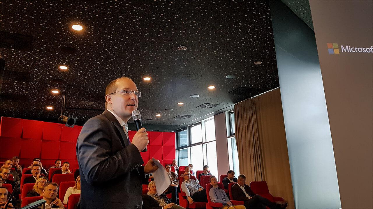 Gerwald Oberleitner, Microsoft Österreich