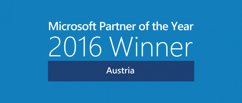 Microsoft Partner of the Year Award Austria