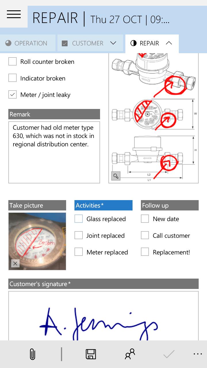 Phone: Pen control