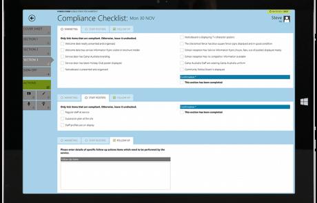 HybridForms: Compliance Checklist Camp Australia