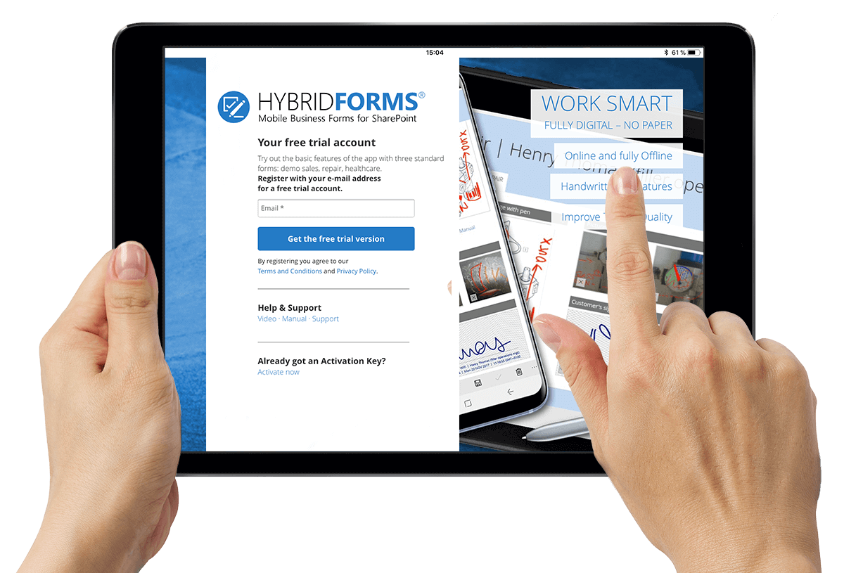 HybridForms: Login
