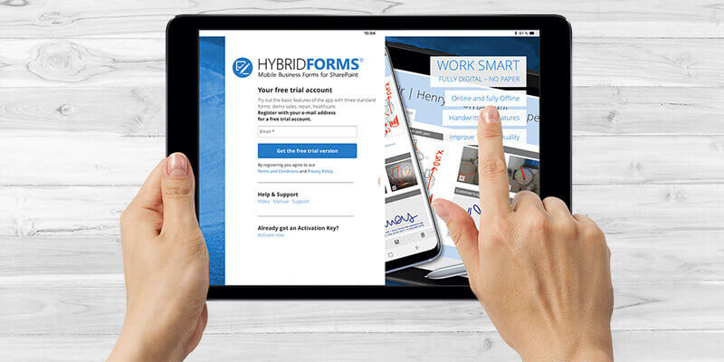 HybridForms: Free trial