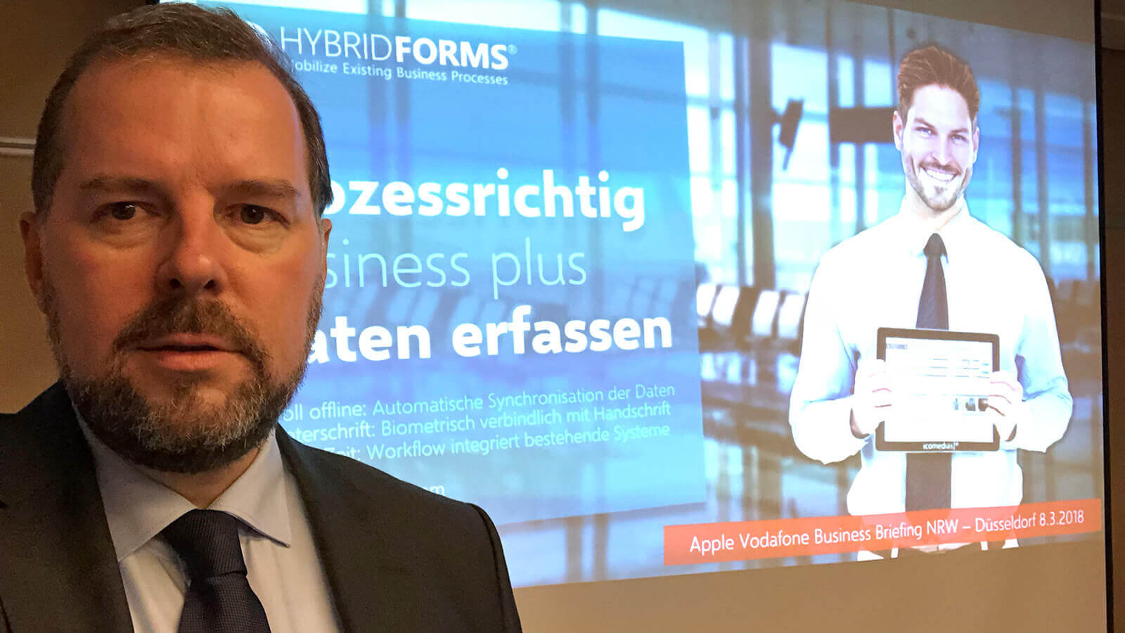 Apple Germany and HybridForms for public authorities