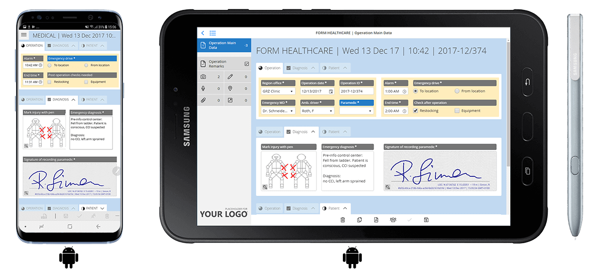 Free trial: HybridForms Demo App for Android, iOS and Windows