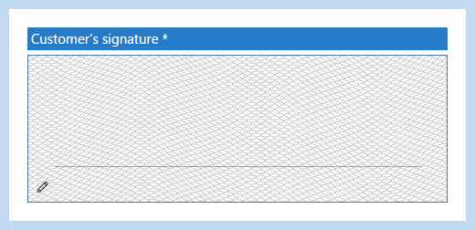 HybridForms: Secure signatures