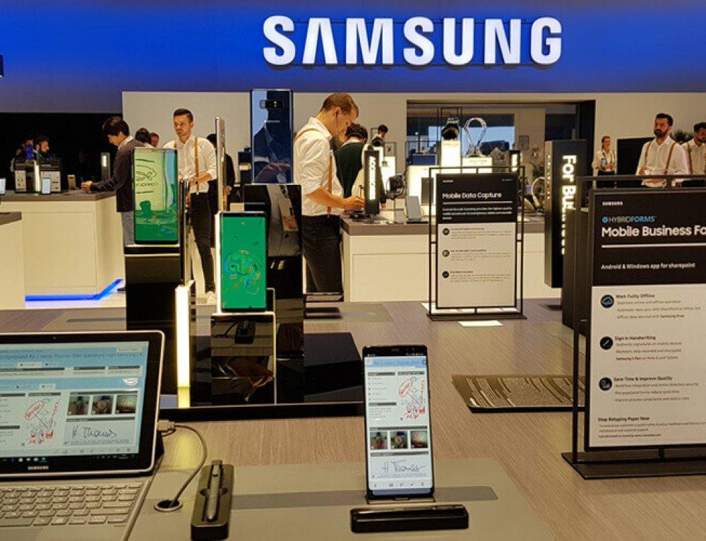 This was IFA Berlin: HybridForms @ Samsung