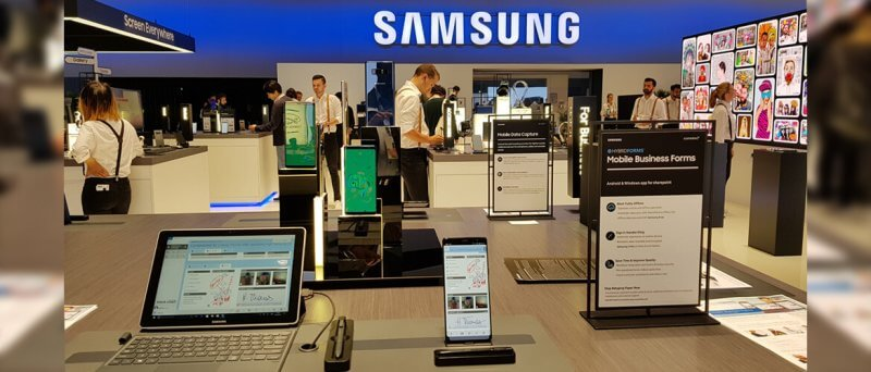 HybridForms with Samsung @ IFA Berlin