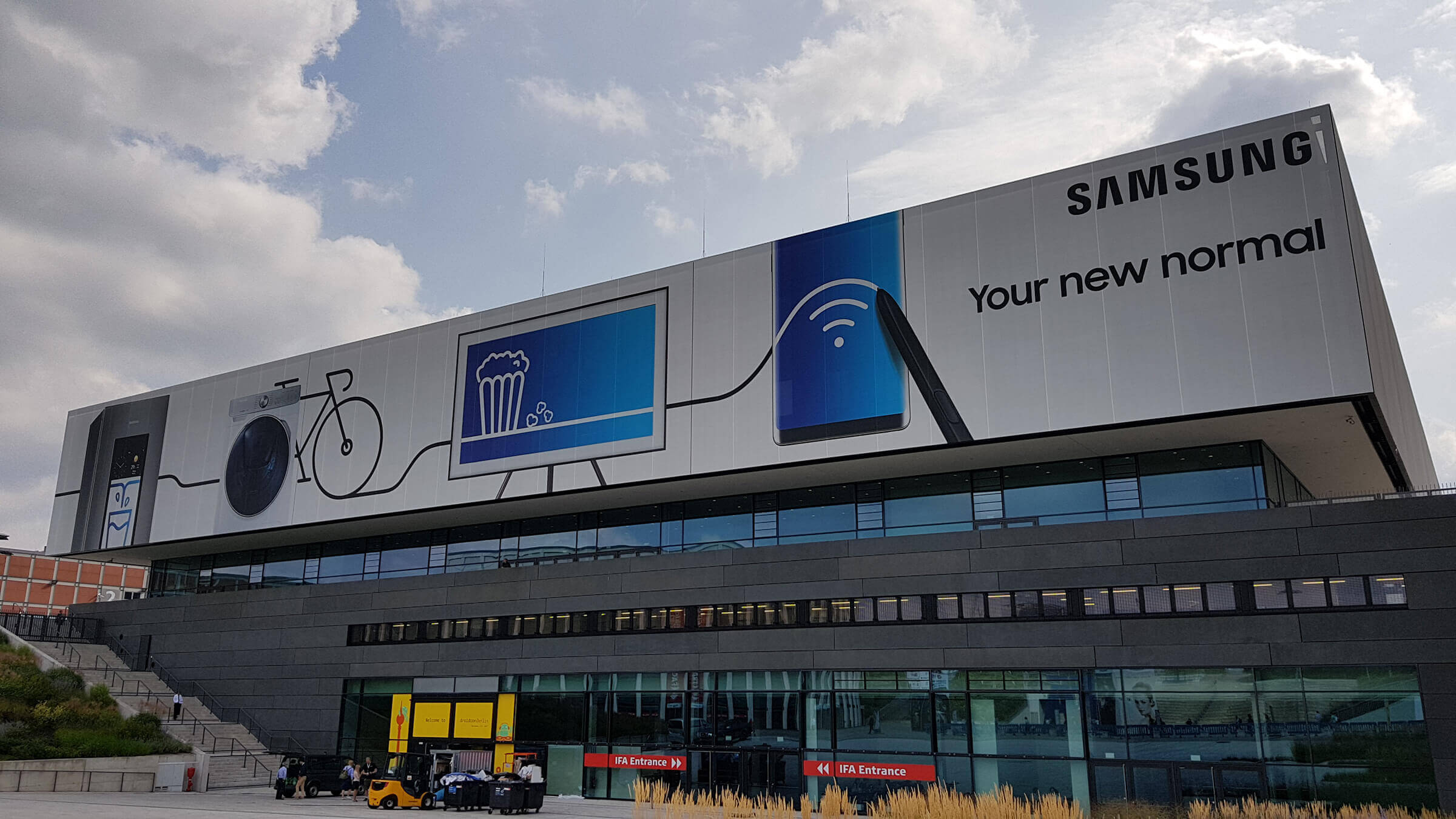 HybridForms and Samsung @ IFA Berlin